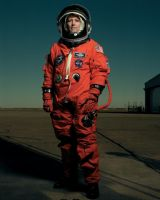 "NASA Astronaut Eileen Collins 8""x10"" Full Colour Portrait #3"